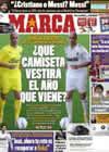 Portada diario Marca del 25 de Febrero de 2011
