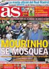 Portada diario AS del 26 de Febrero de 2011