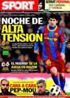 Portada diario Sport del 26 de Febrero de 2011