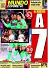 Portada Mundo Deportivo del 27 de Febrero de 2011