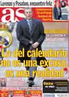 Portada diario AS del 1 de Marzo de 2011