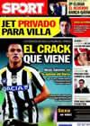Portada diario Sport del 1 de Marzo de 2011