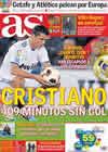 Portada diario AS del 2 de Marzo de 2011