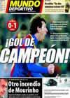 Portada Mundo Deportivo del 3 de Marzo de 2011