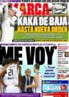 Portada diario Marca del 5 de Marzo de 2011