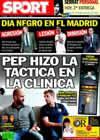 Portada diario Sport del 5 de Marzo de 2011