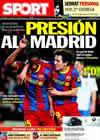 Portada diario Sport del 6 de Marzo de 2011
