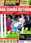 Portada Mundo Deportivo del 6 de Marzo de 2011