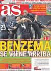 Portada diario AS del 7 de Marzo de 2011