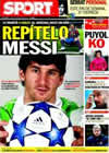 Portada diario Sport del 7 de Marzo de 2011