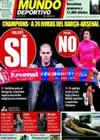 Portada Mundo Deportivo del 7 de Marzo de 2011