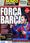 Portada Mundo Deportivo del 8 de Marzo de 2011