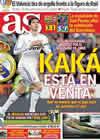 Portada diario AS del 9 de Marzo de 2011