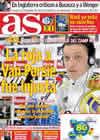 Portada diario AS del 10 de Marzo de 2011