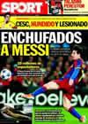 Portada diario Sport del 10 de Marzo de 2011