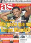 Portada diario AS del 11 de Marzo de 2011