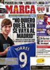 Portada diario Marca del 11 de Marzo de 2011