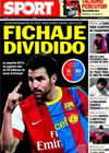 Portada diario Sport del 11 de Marzo de 2011