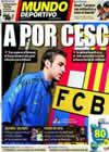 Portada Mundo Deportivo del 11 de Marzo de 2011