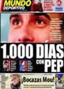 Portada Mundo Deportivo del 12 de Marzo de 2011
