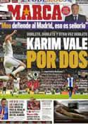 Portada diario Marca del 13 de Marzo de 2011