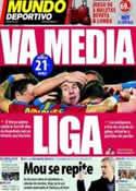 Portada Mundo Deportivo del 13 de Marzo de 2011