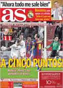 Portada diario AS del 14 de Marzo de 2011