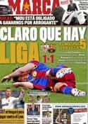 Portada diario Marca del 14 de Marzo de 2011