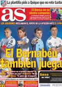 Portada diario AS del 15 de Marzo de 2011