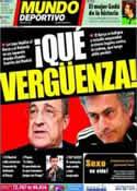 Portada Mundo Deportivo del 15 de Marzo de 2011