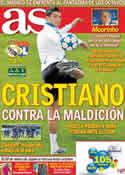 Portada diario AS del 16 de Marzo de 2011