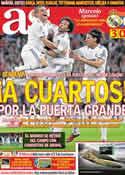 Portada diario AS del 17 de Marzo de 2011