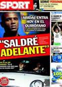 Portada diario Sport del 17 de Marzo de 2011