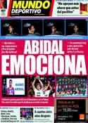 Portada Mundo Deportivo del 17 de Marzo de 2011