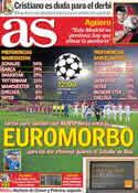 Portada diario AS del 18 de Marzo de 2011