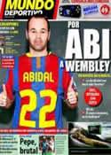 Portada Mundo Deportivo del 18 de Marzo de 2011