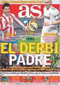 Portada diario AS del 19 de Marzo de 2011