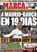 Portada diario Marca del 19 de Marzo de 2011