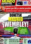Portada Mundo Deportivo del 19 de Marzo de 2011
