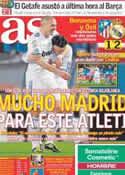 Portada diario AS del 20 de Marzo de 2011