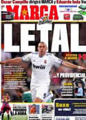 Portada diario Marca del 20 de Marzo de 2011