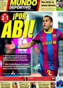 Portada Mundo Deportivo del 20 de Marzo de 2011