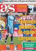 Portada diario AS del 21 de Marzo de 2011