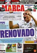 Portada diario Marca del 21 de Marzo de 2011
