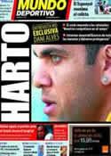Portada Mundo Deportivo del 21 de Marzo de 2011