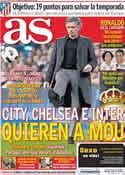 Portada diario AS del 22 de Marzo de 2011