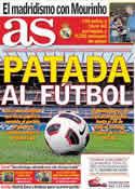 Portada diario AS del 23 de Marzo de 2011