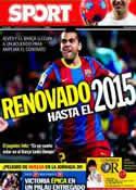Portada diario Sport del 23 de Marzo de 2011
