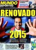 Portada Mundo Deportivo del 23 de Marzo de 2011