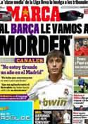 Portada diario Marca del 24 de Marzo de 2011